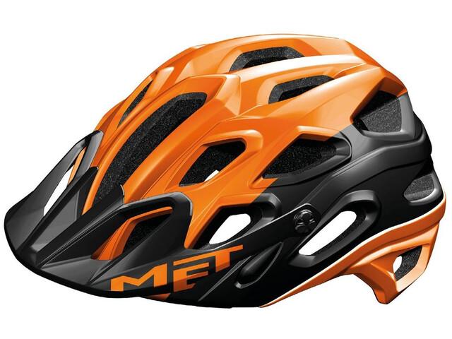 MET Lupo - Casco de bicicleta - naranja/negro
